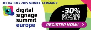 Digital Signage Summit Europe 2019